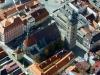 Letecký pohled na Černou věž
