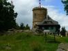 Josefova věž na vrcholku Kleti